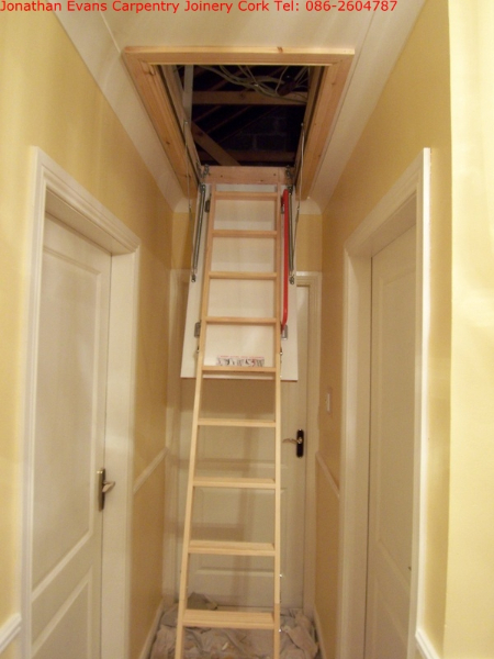 Attic Stairs Ladders Cork Carpentry Joinery Cork