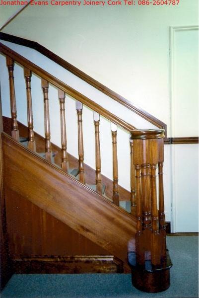 Staircase Refurbishment Cork Carpentry Joinery Cork