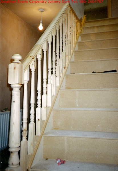 Staircase Refurbishment Cork Carpentry Joinery Cork