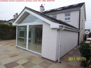 Extensions Cork with Jonathan Evans Carpentry Joinery Tel: 086-2604787