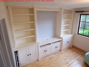 Custom made lounge furniture Cork with Jonathan Evans Carpentry Joinery Tel: 086-2604787
