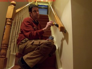 Staircase Refurbishment Cork with Jonathan Evans Carpentry Joinery Tel: 086-2604787