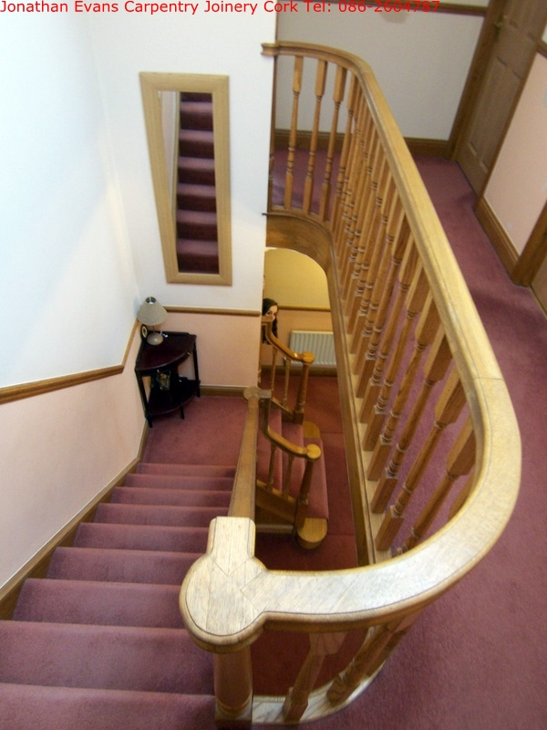 Stairs And Staircases Cork With Jonathan Evans Carpentry Joinery Tel:  086 2604787