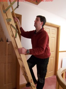 Attic Stairs Ladders Cork with Jonathan Evans Carpentry Joinery Tel: 086-2604787