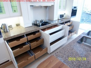 Bespoke Kitchens Cork with Jonathan Evans Carpentry Joinery Tel: 086-2604787
