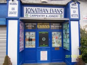 Jonathan Evans Carpentry Joinery Ballincollig Cork-Tel- 0862604787