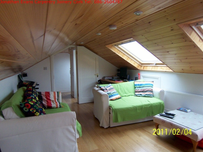 Attic Conversions Cork Carpentry Joinery Cork